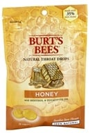 Burt's Bees - Natural Throat Drops Honey - 20 Count (792850014411)