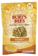Image of Burt's Bees - Natural Throat Drops Honey - 20 Count