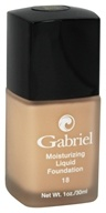 Gabriel Cosmetics Inc. - Moisturizing Liquid Foundation Rose Beige 18 SPF - 1 oz. - $28