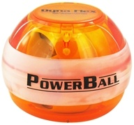 DFX Sports & Fitness - Powerball Lighted Amber Gyro Exerciser by DFX Sports & Fitness