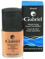 Gabriel Cosmetics Inc. - Moisturizing Liquid Foundation Almond 18 SPF - 1 oz. CLEARANCE PRICED