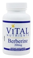Vital Nutrients - Berberine 200 mg. - 60 Vegetarian Capsules, from category: Professional Supplements