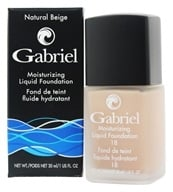 Gabriel Cosmetics Inc. - Moisturizing Liquid Foundation Natural Beige 18 SPF - 1 fl. oz.