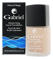 Gabriel Cosmetics Inc. - Moisturizing Liquid Foundation Natural Beige 18 SPF - 1 oz. - $28