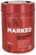 Image of Marked Nutrition - Pre-Workout Igniter Blue Raspberry - 14.79 oz.