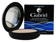 Image of Gabriel Cosmetics Inc. - Dual Powder Foundation Extra Light Beige - 0.32 oz.