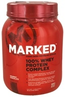 Marked Nutrition - 100% Whey Protein Complex Gourmet Chocolate (32 oz.) - 2 lbs.