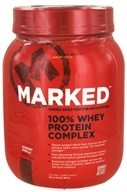 Marked Nutrition - 100% Whey Protein Complex Gourmet Vanilla (32 oz.) - 2 lbs., from category: Sports Nutrition