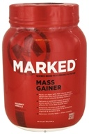 Marked Nutrition - Mass Gainer Gourmet Vanilla - 40 oz., from category: Sports Nutrition