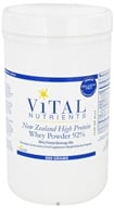 Vital Nutrients - New Zealand High Protein Whey Powder 92% - 500 Grams by Vital Nutrients