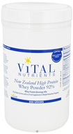 Vital Nutrients - New Zealand High Protein Whey Powder 92% - 500 Grams, from category: Professional Supplements