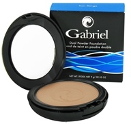 Image of Gabriel Cosmetics Inc. - Dual Powder Foundation Tan Beige - 0.32 oz.