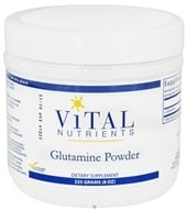 Image of Vital Nutrients - Glutamine Powder - 225 Grams