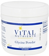 Vital Nutrients - Glycine Powder - 250 Grams - $26.20