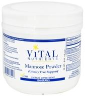 Vital Nutrients - Mannose Powder - 100 Grams - $67.40
