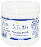 Vital Nutrients - Mannose Powder - 100 Grams by Vital Nutrients