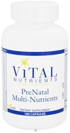 Vital Nutrients - PreNatal Multi-Nutrients - 180 Capsules, from category: Professional Supplements