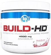 BPI Sports - Build-HD Automatic Muscle Building Powder Fruit Punch - 30 Servings 4500 mg. - 6.35 oz. (851780004029)