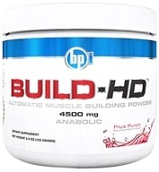 BPI Sports - Build-HD Automatic Muscle Building Powder Fruit Punch - 30 Servings 4500 mg. - 6.35 oz. - $28.99