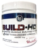 BPI Sports - Build-HD Automatic Muscle Building Powder Watermelon - 30 Servings 4500 mg. - 6.35 oz. (851780004043)