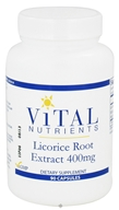 Image of Vital Nutrients - Licorice Root Extract 400 mg. - 90 Capsules