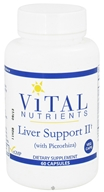 Vital Nutrients - Liver Support II with Picrorhiza - 60 Vegetarian Capsules