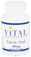 Vital Nutrients - Lipoic Acid 300 mg. - 60 Capsules by Vital Nutrients