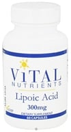 Vital Nutrients - Lipoic Acid 300 mg. - 60 Capsules