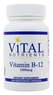 Vital Nutrients - Vitamin B-12 1000 mcg. - 100 Vegetarian Capsules, from category: Professional Supplements
