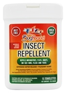 Image of Bug Band - Insect Repellent Towelettes with Geraniol Lotion - 15 Towelette(s)
