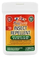 Bug Band - Insect Repellent Towelettes with Geraniol Lotion - 15 Towelette(s) by Bug Band