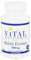 Image of Vital Nutrients - Reishi Extract 500 mg. - 60 Vegetarian Capsules