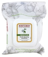 Burt's Bees - Facial Cleansing Towelettes Sensitive With Cotton Extract - 30 Towelette(s) (792850016774)