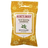 Burt's Bees - Facial Cleansing Towelettes White Tea - 10 Towelette(s)