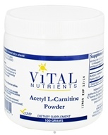 Vital Nutrients - Acetyl L-Carnitine Powder - 100 Grams, from category: Professional Supplements