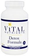 Vital Nutrients - Detox Formula - 120 Vegetarian Capsules by Vital Nutrients