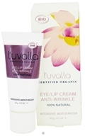 Image of L'uvalla Certified Organic - Eye/Lip Cream Anti-Wrinkle Intensive Moisturizer - 0.7 oz. CLEARANCE PRICED