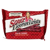 Newman's Own Organics - Licorice Twists Sour Cherry - 5 oz.