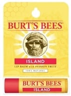 Image of Burt's Bees - Lip Balm Island Passion Fruit - 0.15 oz.