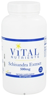 Image of Vital Nutrients - Schisandra Extract 500 mg. - 90 Vegetarian Capsules