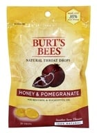 Image of Burt's Bees - Natural Throat Drops Honey & Pomegranate - 20 Count