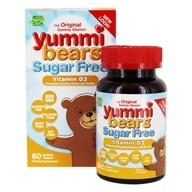 Hero Nutritional Products - Yummi Bears Children's Vitamin D3 1000 IU - 60 Gummies, from category: Vitamins & Minerals