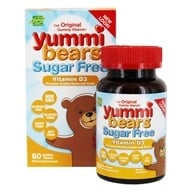 Image of Hero Nutritional Products - Yummi Bears Children's Vitamin D3 1000 IU - 60 Gummies