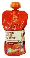 Peter Rabbit Organics - Veg and Fruit Puree 100% Pumpkin Carrot and Apple - 4.4 oz. (815367010193)