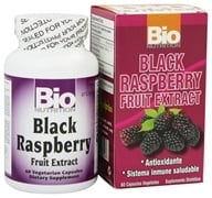 Image of Bio Nutrition - Black Raspberry Fruit Extract 500 mg. - 60 Vegetarian Capsules