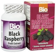 Bio Nutrition - Black Raspberry Fruit Extract 500 mg. - 60 Vegetarian Capsules by Bio Nutrition