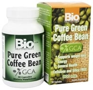 Bio Nutrition - Pure Green Coffee Bean 800 mg. - 50 Capsules