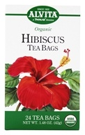 Alvita - Organic Hibiscus Caffeine Free - 24 Tea Bags, from category: Teas