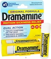 Dramamine - Orignal Formula 50 mg. - 12 Tablets, from category: Nutritional Supplements