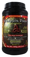 WarriorForce - Warrior Food Extreme Protein Supplement V 2.0 Chocolate Plus - 1000 Grams - $59.95